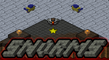 Snorms is an isometric shooter (third person shooter in an isometric